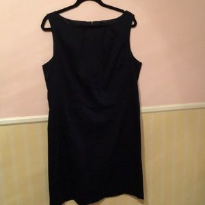 EUC Ann Taylor Navy dress